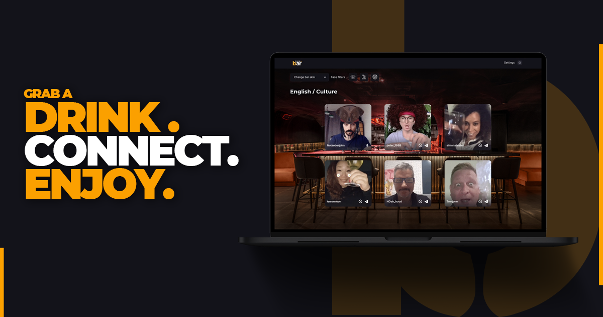 Inside.bar, the global virtual bar experience